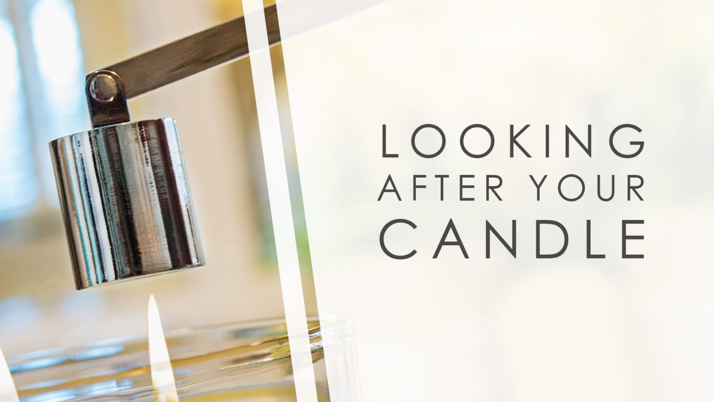 Looking after your candle blog banner