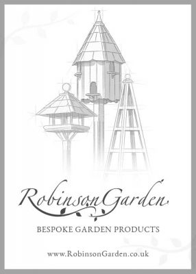 robinson garden bespoke garden products advert