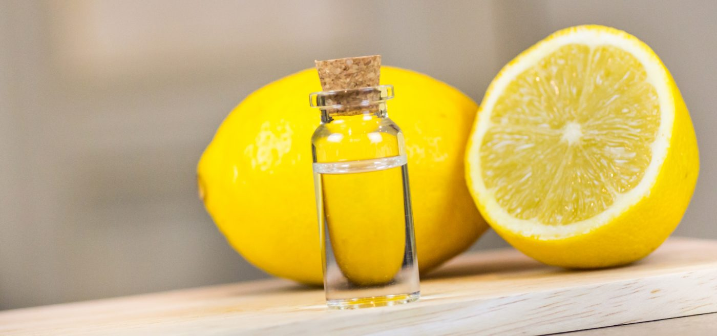 fragrances for motivation and concentration lemon oil